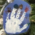 2015 hand snowman