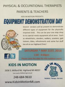2016 Equipment Day Flyer pic