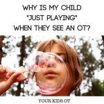 pic blowing bubbles