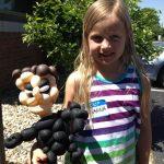 Balloon & girl