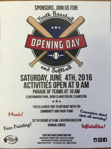 buddy open day flyer