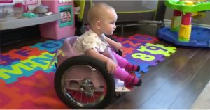 paralyzed baby wheelchair