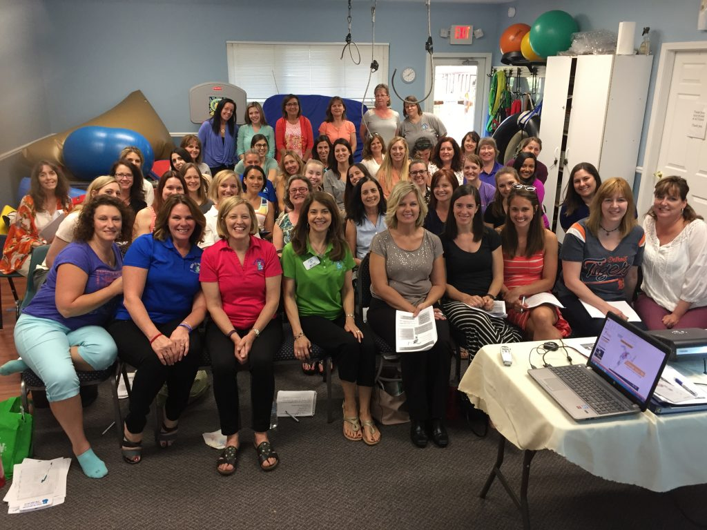 Kids In Motion Pediatric Therapy Services Staff 2017 Group Pic