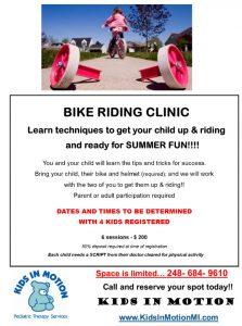 Bike Riding Clinic