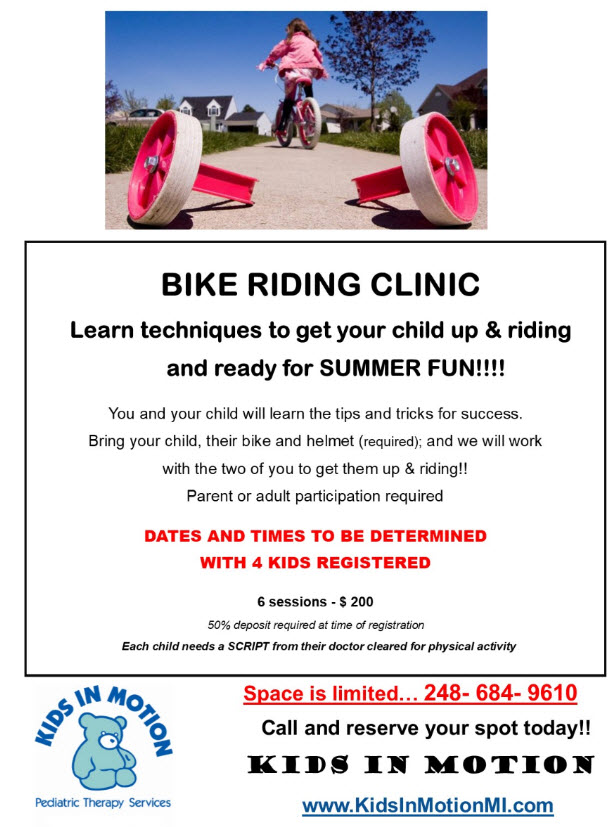 Bike Riding Clinic