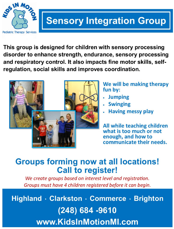Sensory Integration Group