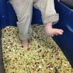 Kids In Motion Sensory bin Feet Play