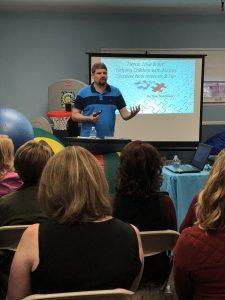 Autism speaker at Kids in Motion mi