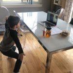 Child in telehealth