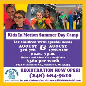 Camp Registration is open