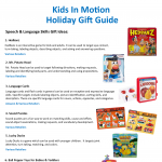 2020 Kids In Motion Holiday Gift Guide