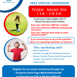 Strength & Coordination Virtual Workshop